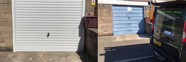 Garagedoor Man Slider Images